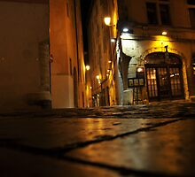 Lyon by night #13 by Antti Andersson