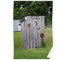 Route 66 OutHouse Poster