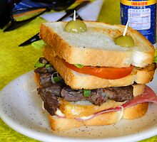 Ecuadorian Steak Sandwich by Al Bourassa