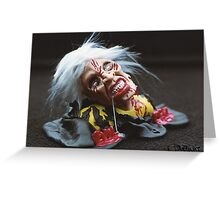 THE EVIL DEAD - in Fimo Greeting Card