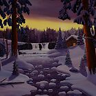 Winter Retreat by Mark Regni