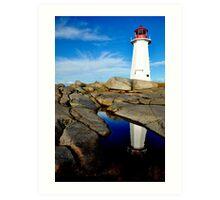 On Watch - Nova Scotia Art Print