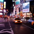 Taxi! - Times Square, New York City 2010 by jiggy