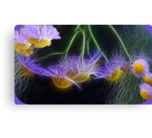 Tiny Flower Power Art Canvas Print