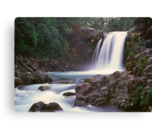 Tawhai Falls, Tongariro National Park Canvas Print