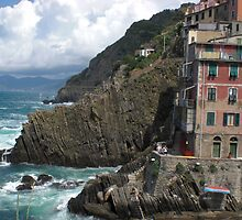 terraced lifestyle-Riomaggiore, Cinque Terre by KiwigirlKara