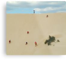 Dune Scramble,Robe South Australia Metal Print