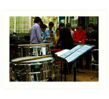 Percussion Ensemble Art Print