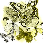 butterfly collage by gklfreeman