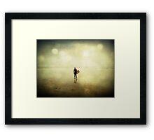 Return to the Waves Framed Print