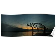 """""""Sunset Cove II, Madison Wisconsin, 2010"""" Poster"""