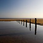 Brancaster Beach, Norfolk by Mark Lancaster
