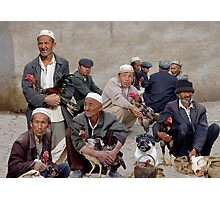 COCKFIGHT - KASHGAR Photographic Print