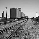 Grain Elevator #1 by Jeffery W. Turner
