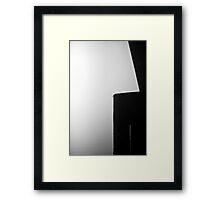 Fraser River Pylon Framed Print