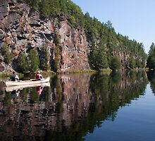 Barron Canyon Reflection - Algonquin Provincial Park Ontario by Stephen Stephen