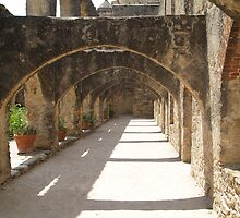 Walkway of Convento by littlefishtale