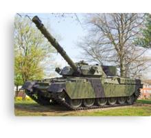 Cheftain Tank Canvas Print