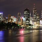 Brisbane City. by Ella Duncan