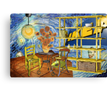 Vincent worked for IKEA....... Canvas Print
