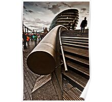 South Bank Abstract Poster