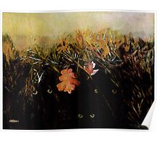 Fall Wind Across the Meadow Poster