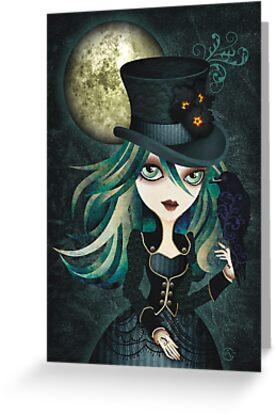 Raven's Moon by sandygrafik
