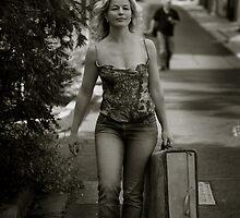 walking away from her lover by DareImagesArt