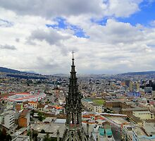 Quito Skyline II by Al Bourassa