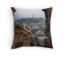 Virgen de El Panecillo III, Quito, Ecuador Throw Pillow