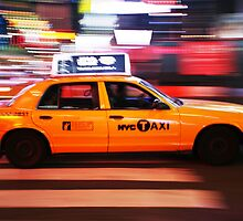 New York City Taxi by Andrew & Mariya  Rovenko