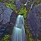 Mossy Waterfall by Jeff Goulden