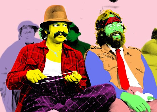 Cheech & Chong by ishbar