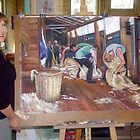 The Artist and the Painting - The Tarcombe Clip by Lynda Robinson