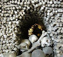 Kostnice Ossuary. (Church of Bones) by Daniel O'Brien