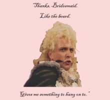 Flashheart to Baldrick the Bridesmaid: by Laura Kelk