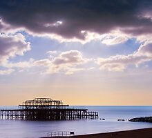 Wreck of the West Pier by friendlydragon