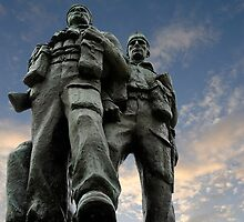 Spean Bridge commando monument, Scotland by buttonpresser