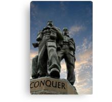 Spean Bridge commando monument, Scotland Canvas Print