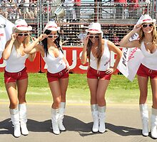 Jim Beam Grid Girls by MidnightRocker