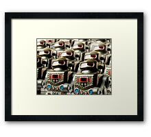 Robot Army Framed Print