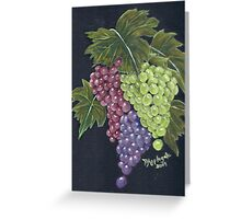 Oregon Grapes ~ Still Life - Oil Painting Greeting Card