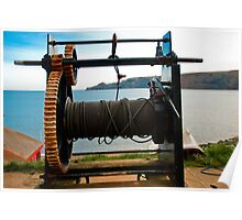 Boat Winch Poster