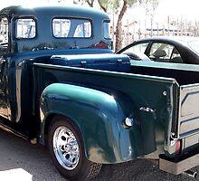Old Green Dodge Truck by Jodyelizabeth