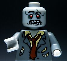 Lego Zombie by smokebelch