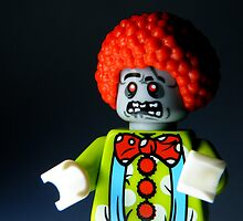 Lego Zombie Clown by smokebelch