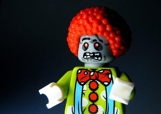 Lego Zombie Clown by smokebelch