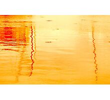 Reflections in Sunset Photographic Print