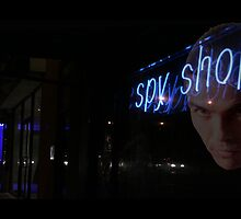 Nepean Neon - shop window on Nepean Hway Melbourne Australia by bayside2