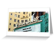 Cinegrill 0825 Greeting Card